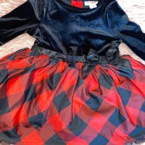 babygirl christmas dress - 18t